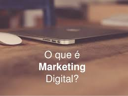 Marketing Online Para Principiantes - Imagem com o Slogan O que é Marketing Digital
